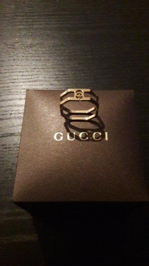 Edler Gucci Ring 18K Gold neu