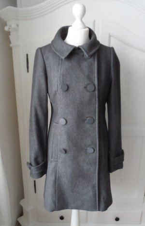 Edler H&M Mantel aus Wolle Gr.40 Grau nur 2 x getragen