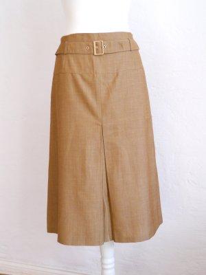Basler Jupe taille haute marron clair