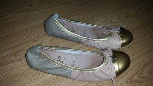 edler italienischer Echtleder-Ballerina, Gr.40