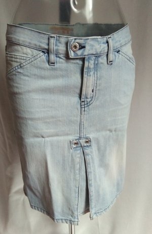 edler Jeans Rock mit vielen schönen Details! neuwertig!