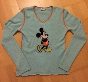 Edler Kaschmir Pullover Cashmere Pulli von Heartbreaker @ Disney Mickey XS/S