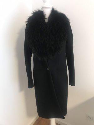 Joseph Manteau en laine noir