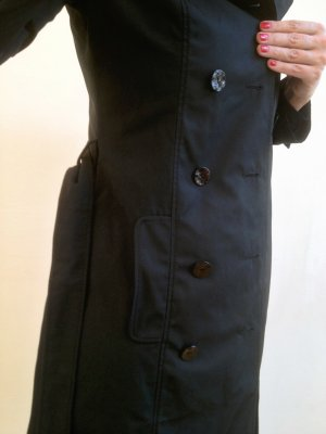 edler Moschino cheapandchic Trenchcoat schwarz Gr. 38
