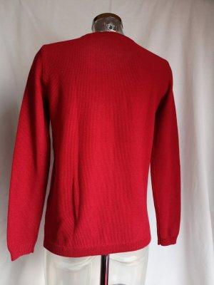 Esprit Jersey de punto grueso rojo-rojo ladrillo