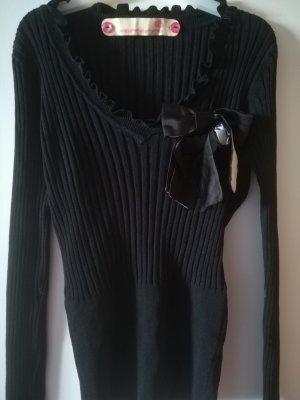 Edler Pulli von FORNARINA, nur 1x getragen, Mit Schleife, Gr. S, Viskose