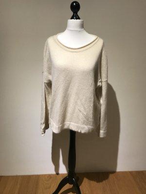 H&M Maglione bianco sporco-oro