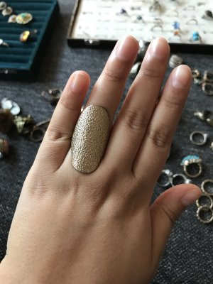 Accessorize Statement Ring gold-colored