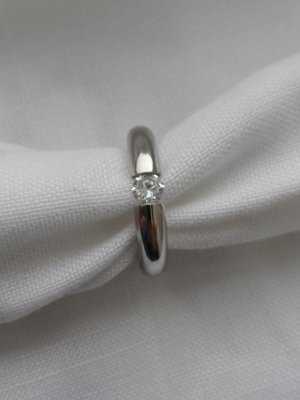 Anello argento Acciaio pregiato