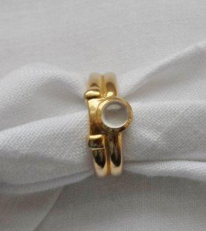 edler Ring Gr. 55 (17,5) aus 333 Gold mit einem Mondstein