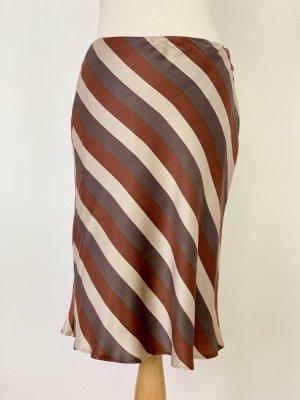 René Lezard Silk Skirt multicolored silk