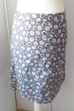 Maas Midi Skirt beige-grey cotton