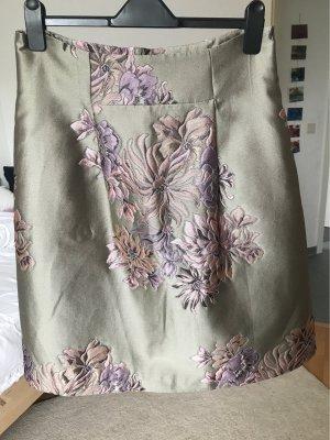 Apriori Silk Skirt gold-colored