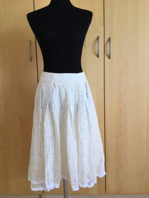 Strenesse Silk Skirt natural white silk