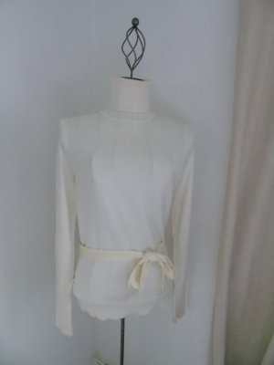 edler Rollkragen Pullover von Esprit in créme Gr. M mit Gürtel