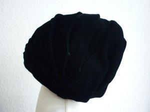 Cappello nero Velluto