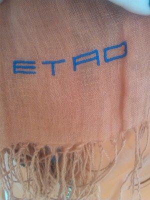 Etro Kerchief orange linen