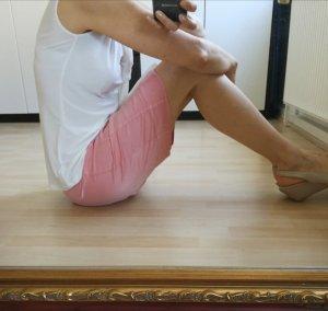 Sack's Silk Skirt light pink