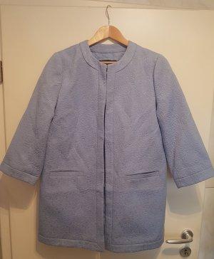 Abrigo corto azul celeste Algodón