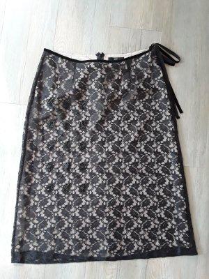 Birger et Mikkelsen Mode zwart-stoffig roze Polyester