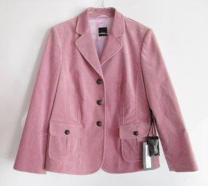 Edler Stretch Cord Blazer Riani Größe XL 44 Altrosa Rose Rosa Barock Jacke Business