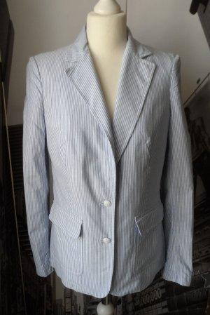 edler Tommy Hilfiger Blazer Gr. 8 (38) Hellblau Weiß gestreift wenig getragen