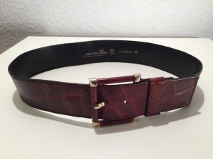Waist Belt gold-colored-brown leather