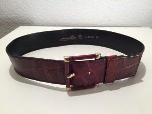Cinturón pélvico color oro-marrón Cuero
