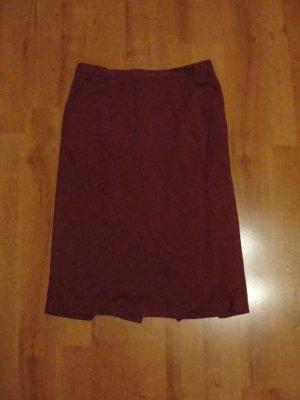 Wool Skirt magenta