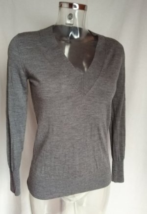 Banana Republic V-Neck Sweater dark grey