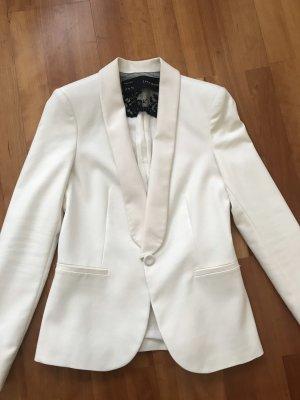 Zara Blazer white-natural white