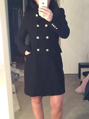 Edler Zara mantel in schwarz