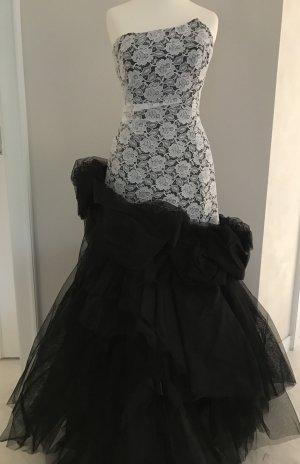 Carry Allen by Ella Singh Evening Dress black-white