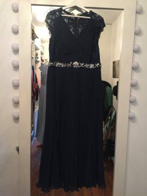 edles Abendkleid navy blue