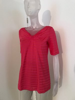 Armani Collezioni T-Shirt magenta cotton