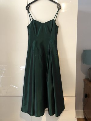 Angie Ball Dress dark green