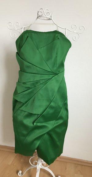 Edles bandeau Satin Kleid von Karen Millen