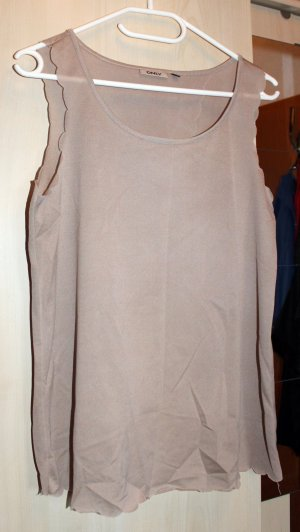 Only Top cut-out crema-beige