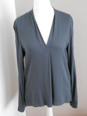 More & More Blouse à enfiler gris anthracite viscose