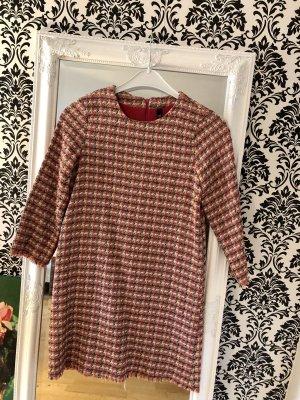 Zara Vestido de manga larga multicolor