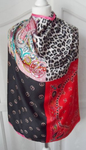 Codello Silk Cloth black-red silk