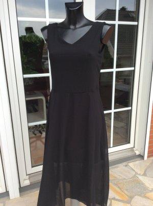 Abercrombie & Fitch Chiffon jurk zwart Polyester