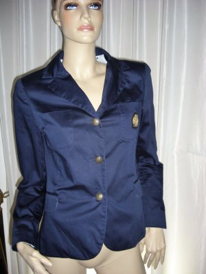 Edles Designer Jacket APART  Marine Design   Neuwertig  GR  38 blau Blazer