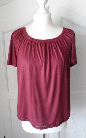 edles Esprit Shirt Gr. M bordeaux nur 2 x getragen