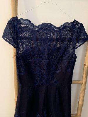 Chi Chi London Sheath Dress dark blue