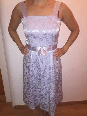 A Line Dress silver-colored-light grey viscose