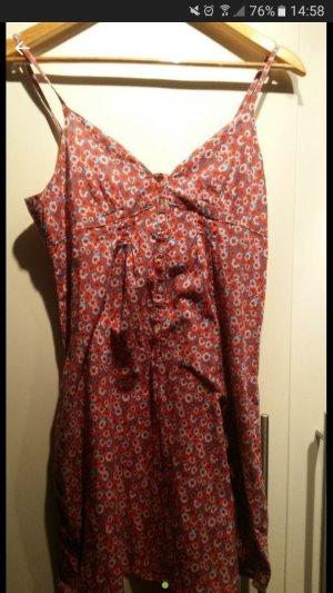edles Kleid mit Blumenprint