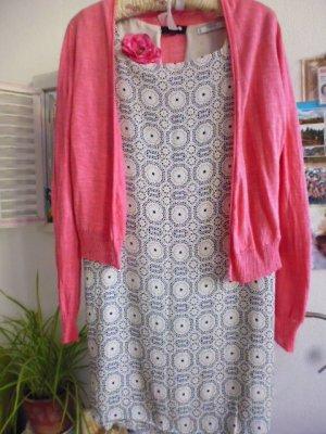 Mango Midi Dress multicolored mixture fibre