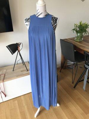Warehouse Robe longue bleu fluo