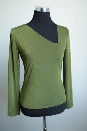 Edles Markenshirt in der Trendfarbe grün !
